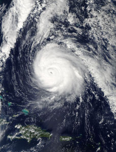 Major Hurricane Gonzalo
